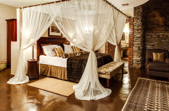 Luxurious accommodation offered at Tintswalo Safari Lodge.